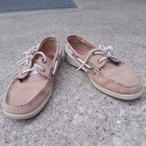 Sperry Topsider boat shoes, 8M